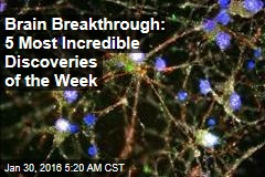 Brain Breakthrough: 5 Most Incredible Discoveries of the Week