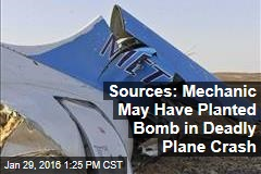 Sources: Mechanic May Have Planted Bomb in Deadly Plane Crash