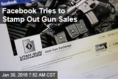Facebook Bans Private Gun Sales