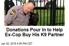 Donations Pour In to Help Ex-Cop Buy His K9 Partner