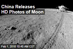 China Releases HD Photos of Moon