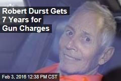 Robert Durst Gets 7 Years for Gun Charges