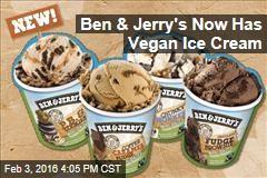 Ben & Jerry's Now Has Vegan Ice Cream