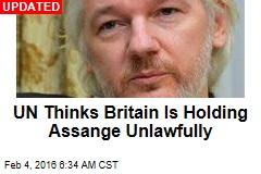 Assange: I'll Accept Arrest if UN Rules Against Me
