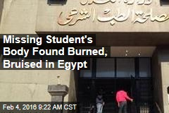 Missing Student's Body Found Burned, Bruised in Egypt