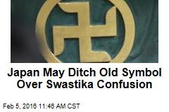 Japan May Ditch Old Symbol Over Swastika Confusion