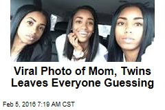 Viral Photo of Mom, Twins Leaves Everyone Guessing