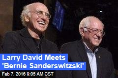 Larry David Meets 'Bernie Sanderswitzski'
