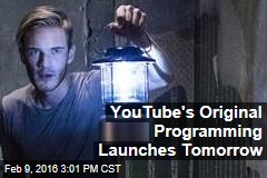 YouTube's Original Programming Launches Tomorrow