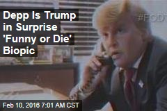 Depp Is Trump in Surprise 'Funny or Die' Biopic