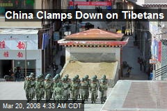 China Clamps Down on Tibetans