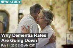 Why Dementia Rates Are Going Down
