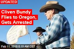 Cliven Bundy Flies to Oregon, Gets Arrested
