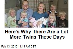 Here's Why There Are a Lot More Twins These Days