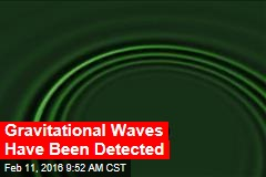 Gravitational Waves Have Been Detected