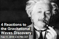 4 Reactions to the Gravitational Waves Discovery