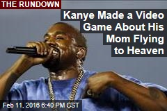 Kanye Made a Video Game About His Mom Flying to Heaven