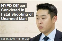 NYPD Officer Convicted in Fatal Shooting of Unarmed Man