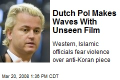 Dutch Pol Makes Waves With Unseen Film