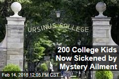 200 College Kids Now Sickened by Mystery Ailment