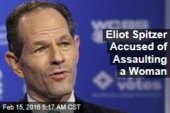 Spitzer Accused of Assaulting Woman