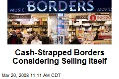 Cash-Strapped Borders Considering Selling Itself