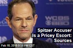 Spitzer Accuser Is a Pricey Escort: Sources