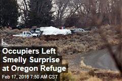 Occupiers Left Smelly Surprise at Oregon Refuge