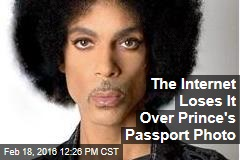The Internet Loses It Over Prince's Passport Photo