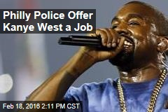 Philly Police Offer Kanye West a Job