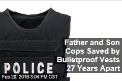 Father and Son Cops Saved by Bulletproof Vests 27 Years Apart