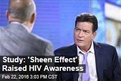 Study: 'Sheen Effect' Raised HIV Awareness