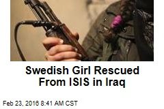 Swedish Girl Rescued From ISIS in Iraq