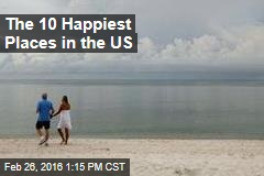 The 10 Happiest Places in the US