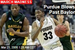 Purdue Blows Past Baylor