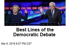 Best Lines of the Democratic Debate