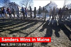 Sanders Wins in Maine