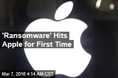 Ransomware Hits Apple for First Time