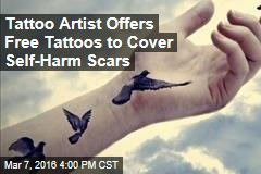 Tattoo Artist Offers Free Tattoos to Cover Self-Harm Scars