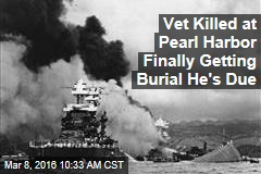 Vet Killed at Pearl Harbor Finally Getting Burial He's Due