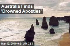At Natural Wonder, Australia Finds 'Drowned Apostles'