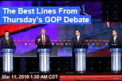The Best Line's From Thursday's GOP Debate