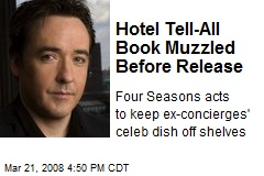 Hotel Tell-All Book Muzzled Before Release