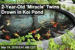 2-Year-Old 'Miracle' Twins Drown in Koi Pond