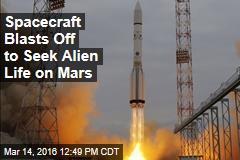 Spacecraft Blasts Off to Seek Alien Life on Mars