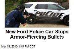 New Ford Police Car Stops Armor-Piercing Bullets