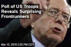 Poll of US Troops Reveals Surprising Frontrunners