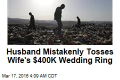 Trash Company Saves $400K Wedding Ring