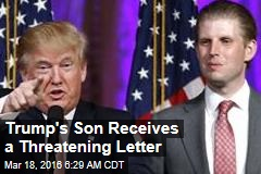 Drop Out, Trump, or Your Kids Will Pay: Letter Sent to Son