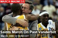 Saints March On Past Vanderbilt